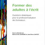 Former des adultes à l'écrit_Livre Guernier & Sautot